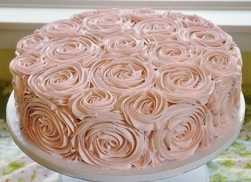 Swiss Meringue Buttercream Roses. Another reason you should avoid sugarpaste.