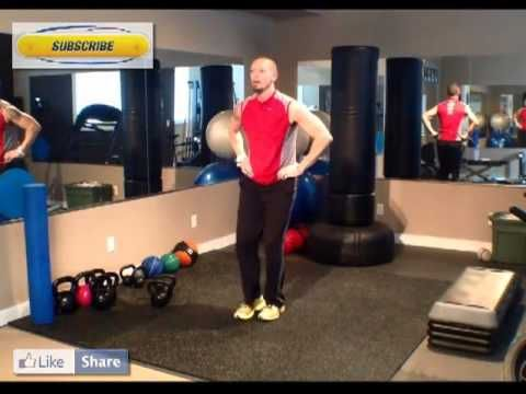 Calgary Personal Trainer Reverse Lunge Tutorial. Reverse Lunge by Bounce...