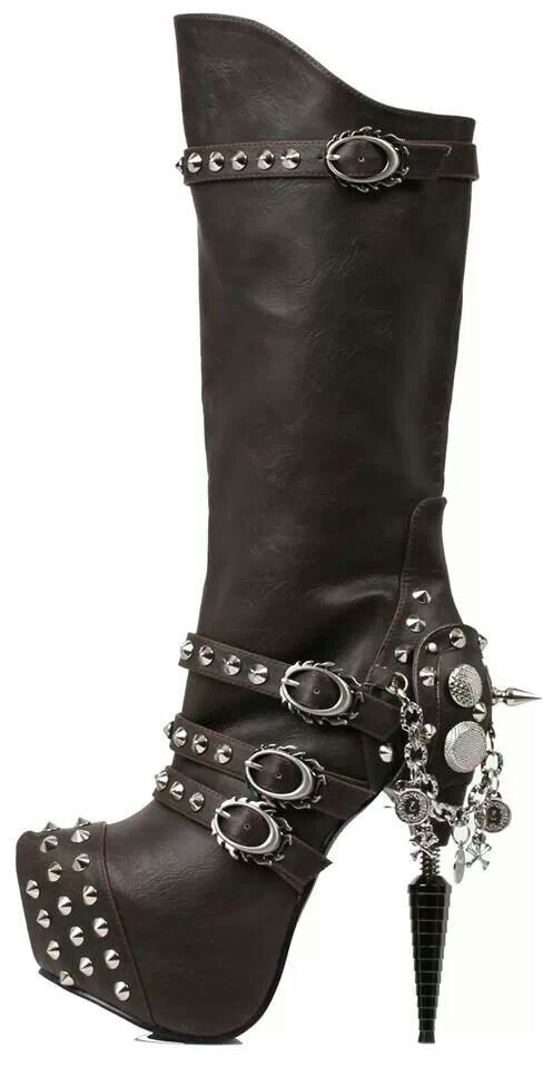 Interesting design and extremely creative looking boot...