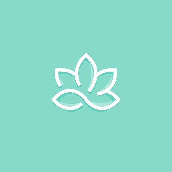 Lotus Flower by Zach Roszczewski @ZachRoszczewski by logoinspirations