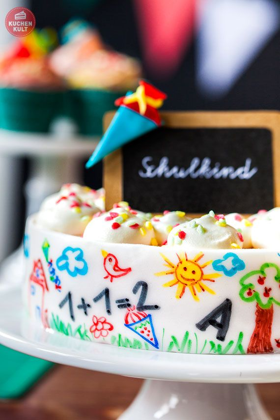 #Einschulung #Ideen #Torte #Tafel #Kaffeeklatsch #Tischdeko #Schultüte #school #enrollment #ideas #deco #sweet #table #cake #gateau #chalkboard