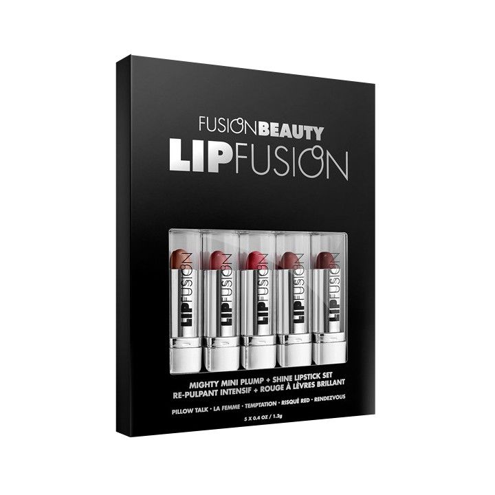 Fusion Beauty Lip Fusion Mini Plump & Shine Lipstick Gift Set