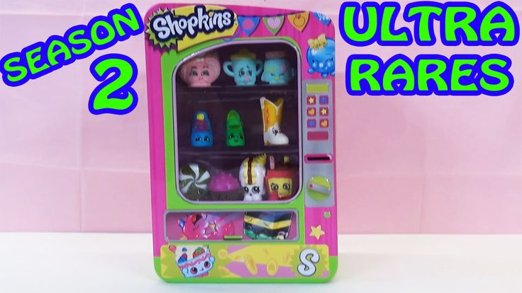 www.youtube.com/user/disneytoybox?sub_confirmation=1  DisneyToyBox Toy Unboxing of the Shopkins Vending Machine Playset with Ultra Rare Season 2 Shopkins. This Shopkins vending machine is an AWESOME way for us to display some of the Season 2 Shopkins that we have been lucky enough to find. machine. #Shopkins #Toys #Unboxing