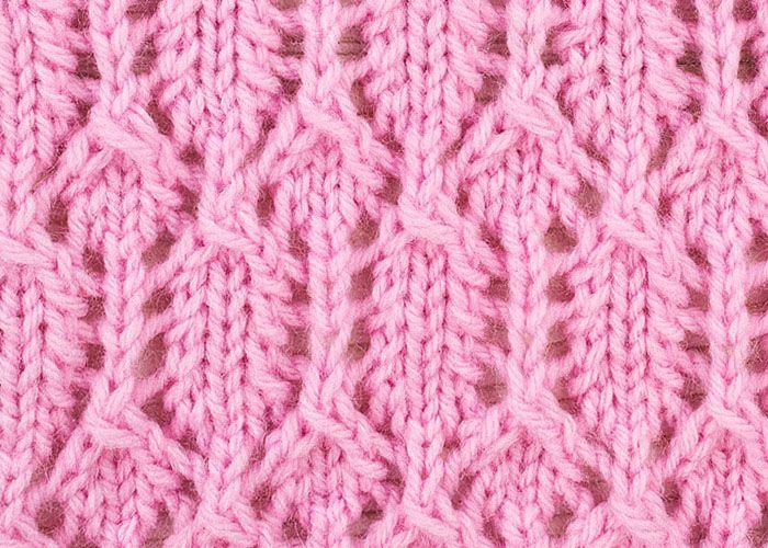 Knitting Lace Patterns For Beginners : Beginners lace knit pinterest beautiful knitting