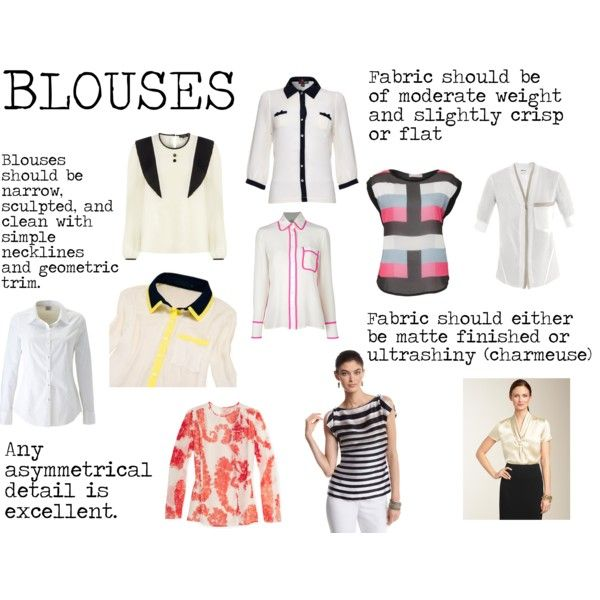 """""""Flamboyant Gamine (FG) Blouses"""" by lightspring on Polyvore"""