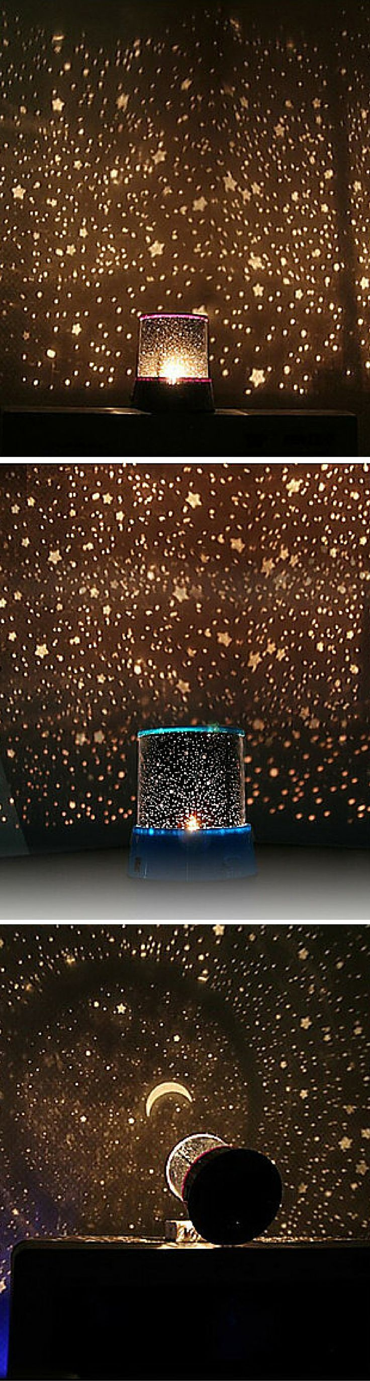 This LED star master night light revolving starry light projector with music, brings romance and more fun to your kids room, sure they will live this!