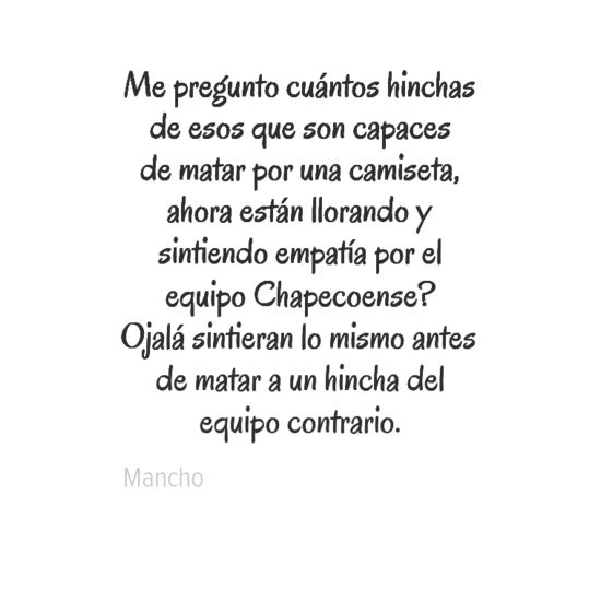 #Chapecoense #FuerzaChapecoense #ForcaChape