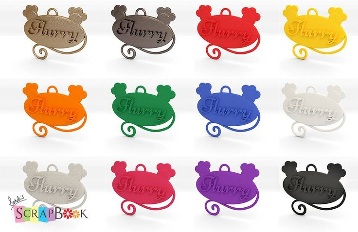 Many of the colors and materials for the collar tag for cats. There are even more. Check out my store in etsy or if you're from Pakistan you'd definitely would want to buy this from asyt.pk cause they ship it cheaper.  #collartag #pets #cat #Flurry #3dprinted #3dmodeling #sarahsscrapbook #customisable #accessories #gold #mattegold #plastic #colorful #shapeways #onlineshopping #etsy #asyt #pakistan #hobby