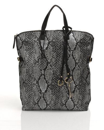Traderaannons: SoNize väska i ormskinnsmönster