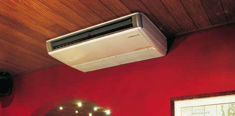 Plafonnier - Pompe à chaleur / Climatisation réversible - Energy Control