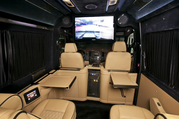 Klassen Excellence Sprinter Mercedes-Benz MSD 1201 Family Company Business Luxury Van with 10 seats and Luggage box.