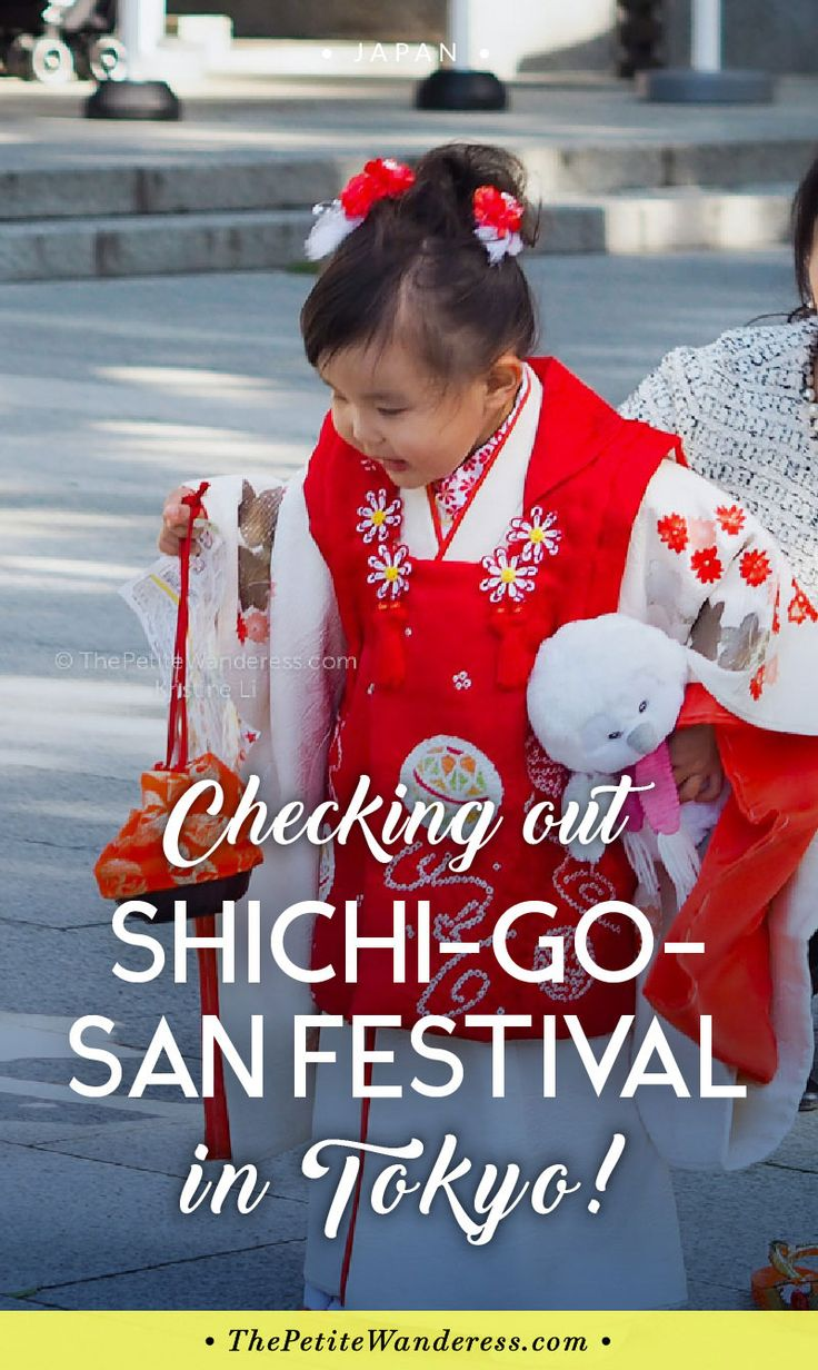 Shichi-Go-San: Tokyo's most colourful festival in November • The Petite Wanderess via @thepetitewanderess