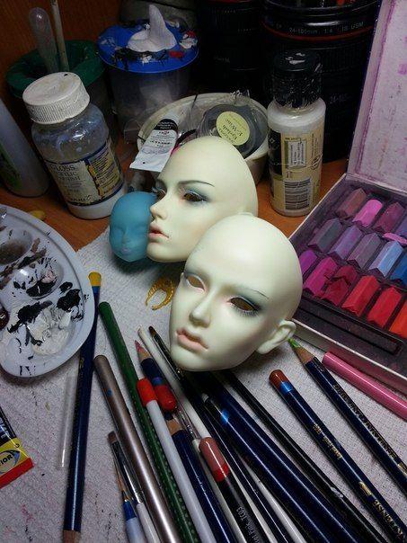 Основы макияжа BJD