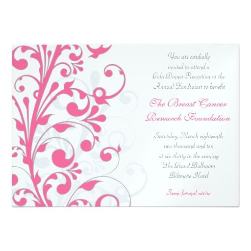 229 best Elegant invitations images on Pinterest Elegant - fundraiser invitation