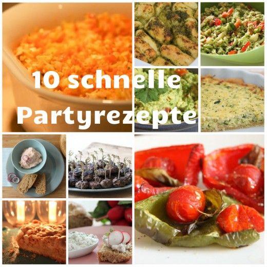 Partyrezepte Thermomix - meine Top 10 Party und Fingerfoods fürs Buffet. Alles schnell gemacht - und in meinem Post dazu verrate ich euch, wann ihr was vorbereiten müsst, damit ihr nicht in Stress geratet. Also absolut gastgeberfreundliches Essen, was man gut vorbereiten kann. Denn Post findet ihr hier: http://www.meinesvenja.de/2013/01/25/die-top-10-partyrezepte/