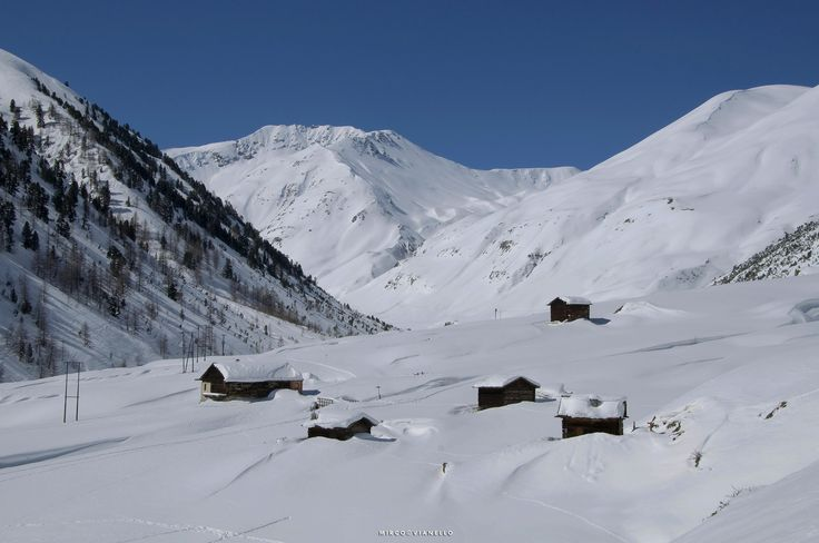 Federia valley - during the winter, a part of the Federia Valley is not inhabited