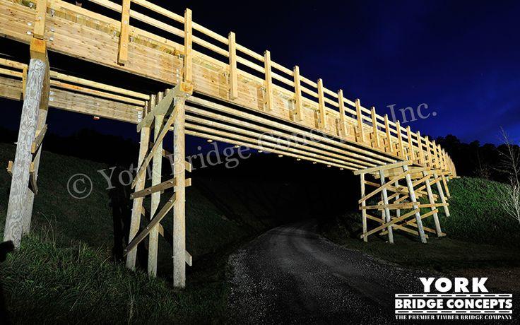 Timber Overpass Bridge: SBR Upper Legacy - Mount Hope, WV