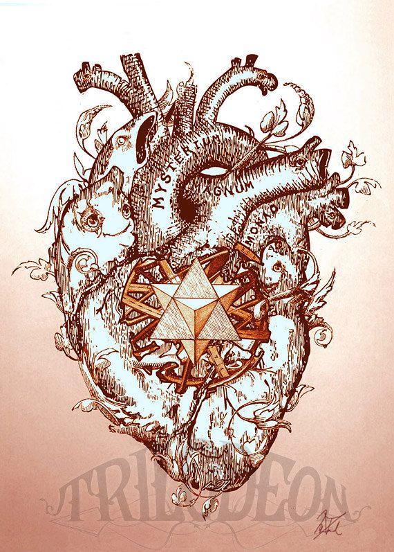 Corazón y Merkaba