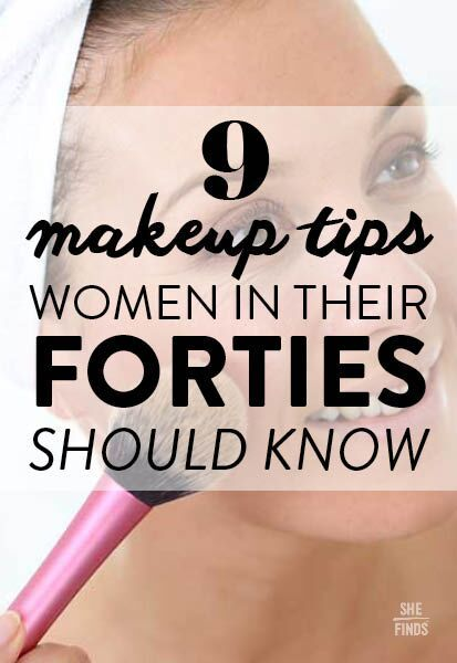 Makeup tips for women in their forties