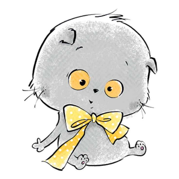 Картинки для скрапбукинга кот басик