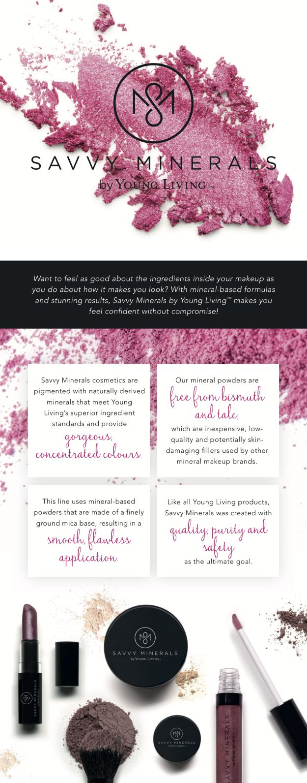 49 Best Savvy Minerals By Young Living Images On Pinterest Savvy