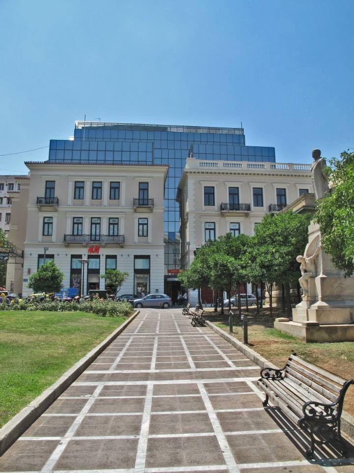 Kolokotroni Square, Stadiou Str., Athens