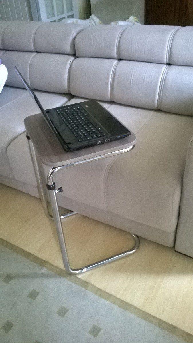 1000 ideias sobre mesa de notebook no pinterest mesa de - Mesas para el sofa ...