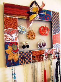 Fashionable Style: Homemade Jewelry Organizer Tutorial with Pretty Life Anonymous