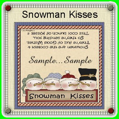 Snowman Kisses Christmas Decorations Christmas Gifts