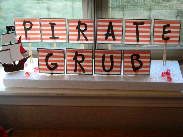 "Photo 10 of 44: Pirate Birthday Boy / Birthday ""Pirate James"" | Catch My Party"
