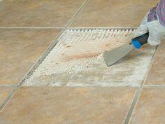 How to Replace a Broken Floor Tile : How-To : DIY Network