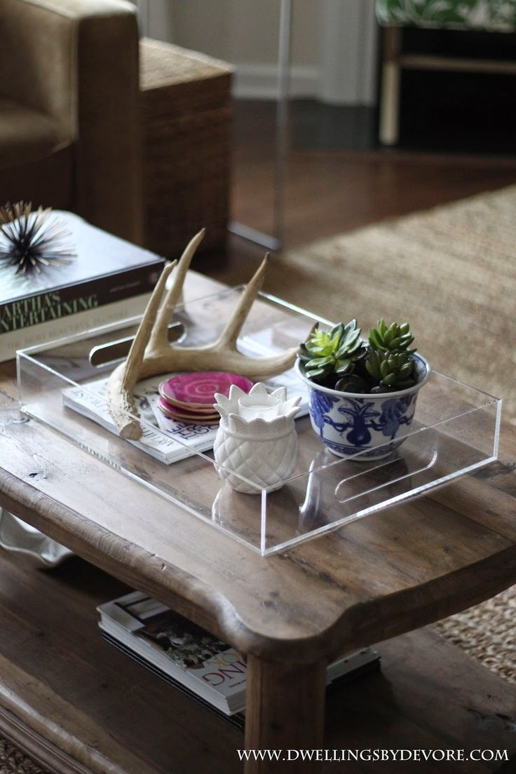 118 best Lucite tray images on Pinterest