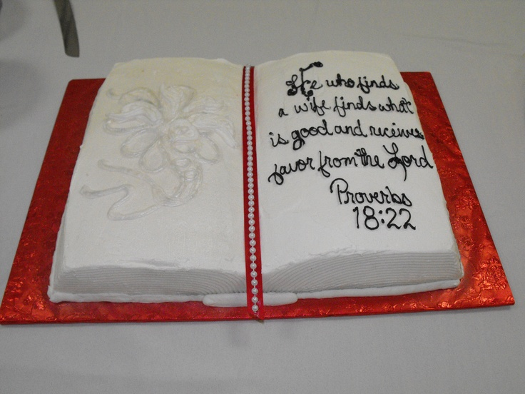 Open bible grooms cake cake by brenda cake decorating for Decorated bible