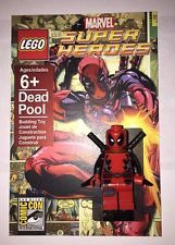 Comic-Con Style Dead Pool Mini Figure - Custom Lego