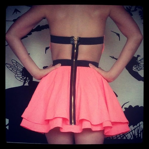neon: Party Dresses, Fashion, Style, Dream Closet, Clothes, Outfit, Pink