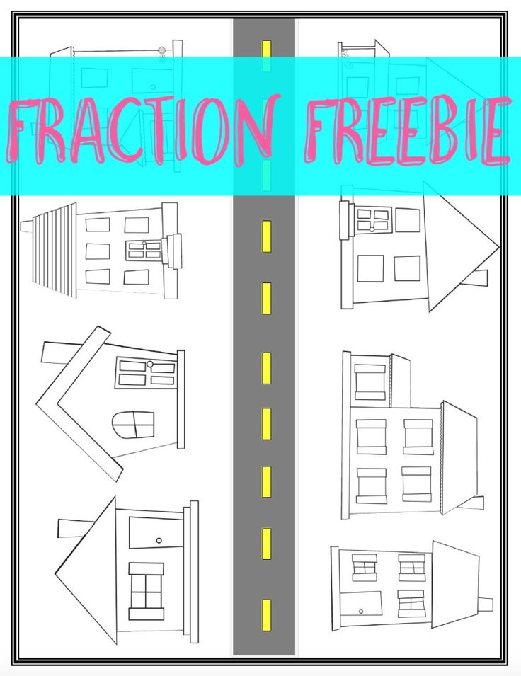 FRACTION FREEBIE-Fraction Avenue is a great way to squeeze in a little fun with equivalent fractions! Students will LOVE it!