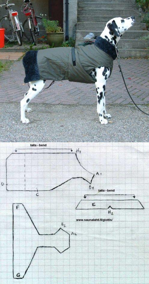 Warmer Deckenmantel für ein Hundemuster / … #de…