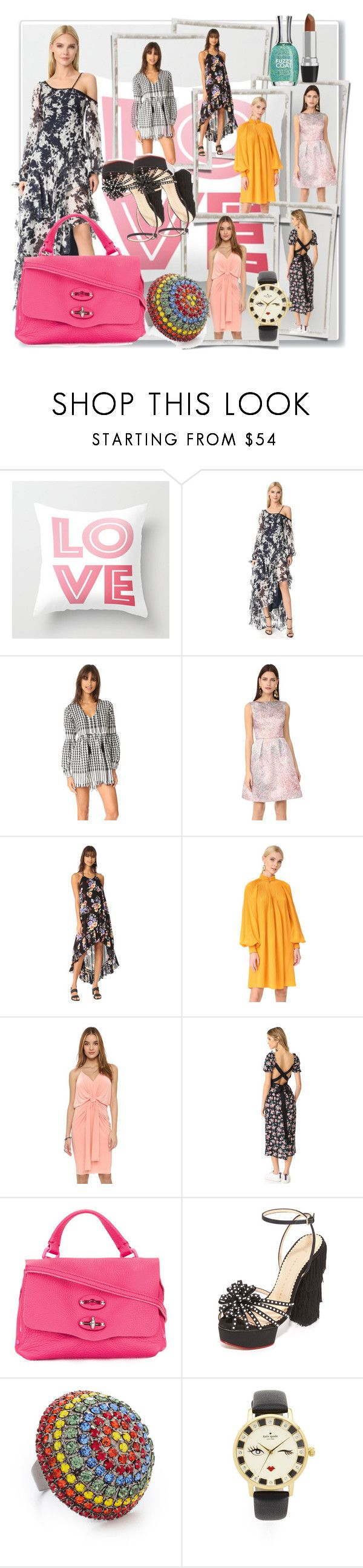 """""""Every Day Style!!"""" by stylediva20 ❤ liked on Polyvore featuring Jonathan Simkhai, Hello Parry, Monique Lhuillier, MINKPINK, TIBI, Misa, Mother of Pearl, Zanellato, Charlotte Olympia and Elizabeth Cole"""