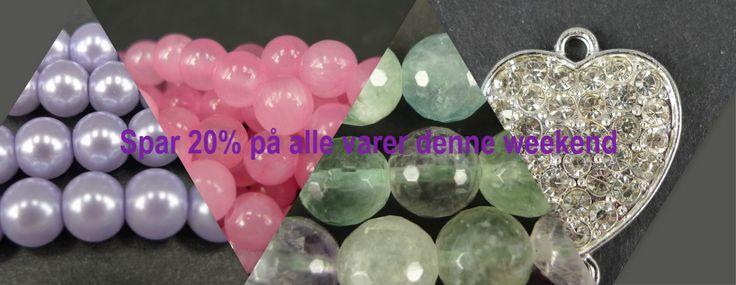 Spar 20% på ALLE varer hele denne weekend. http://amazy.dk/