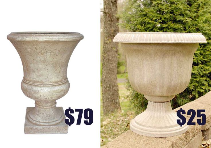 In this post, I share how to create a thrifty DIY knockoff planter that looks exactly like Tuscan stone for a fraction of the cost.