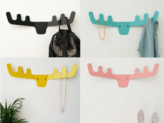 Hey, I found this really awesome Etsy listing at https://www.etsy.com/il-en/listing/240102155/faux-deer-head-wall-hanger-coat-rack