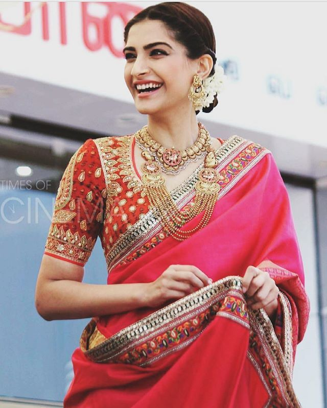 Sonamkapoor Today In Chennai For Kalyan Jewellers In -1373