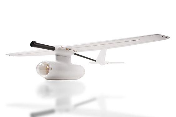 Zeta Sky Observer FPV Plane Carbon Fiber/EPO 2000mm White (Kit)