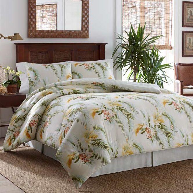 Great Tommy Bahama Beachcomber Gold Comforter Set