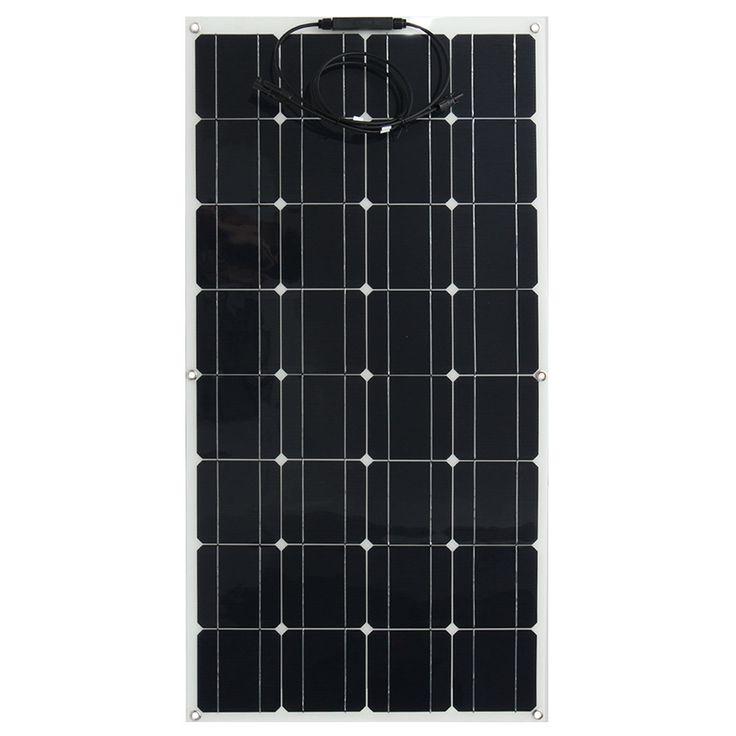 Elfeland 18V 100W Panel солнечные панели Solarpanel Solamodul Semi-flexible Mono