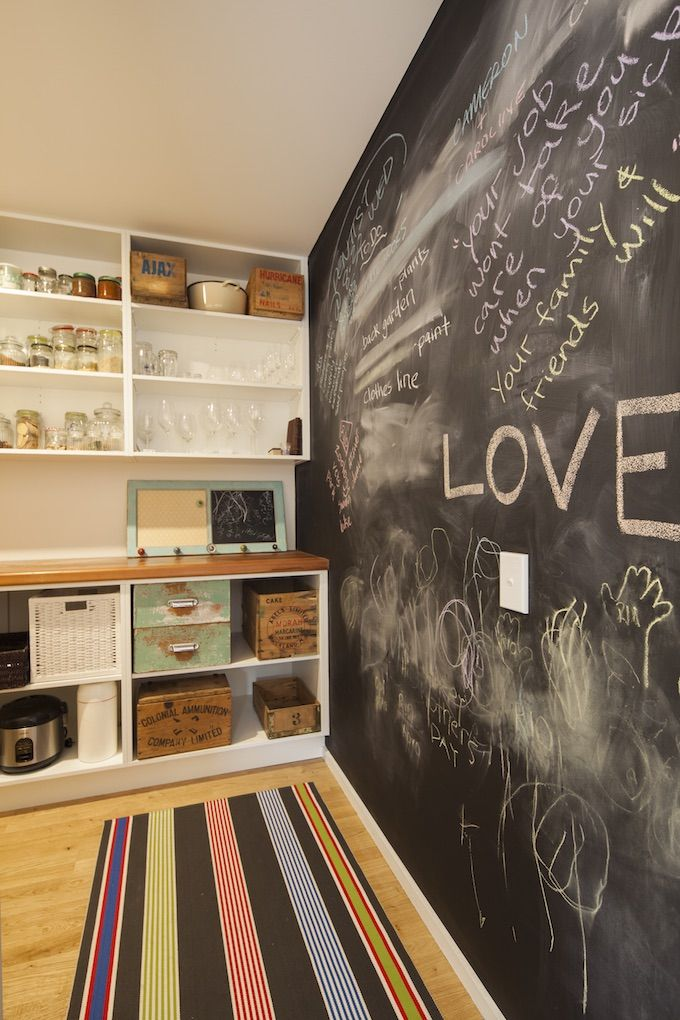 Chalkboard Wall | NZ Homes | Build me. | Building NZ | buildme.co.nz/nz-homes