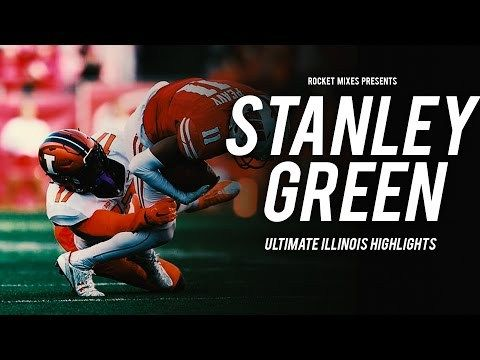 Hardest-Hitting Freshman Safety in College Football - Stanley Green Illinois Highlights - http://www.truesportsfan.com/hardest-hitting-freshman-safety-in-college-football-stanley-green-illinois-highlights/