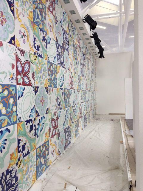 Lo stand Vietri Home Parva Domus Magna Quies al #Cersaie2015 ceramiche del Vietri Ceramic Group #vietriceramic. Progetto @granesedesign Granese Studio - Architecture & Design di #DiegoGranese. https://www.facebook.com/Vietri-Ceramic-Group-1132337140128573/