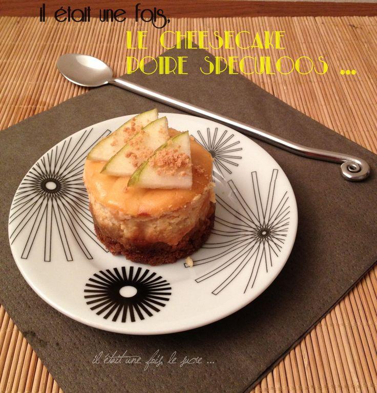 Cheesecake Poires/Spéculoos