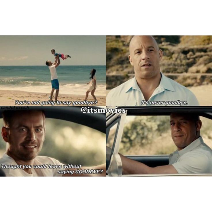 Fast & Furious 7- Such a wonderful tribute but it just rips my heart out every time.